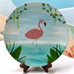 Flamingo Plate Sample