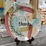 Give Thanks Plate Christy's