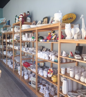 Claytopia's Wall of Bisque Choices