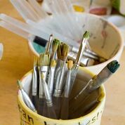 Clean Brushes Cup