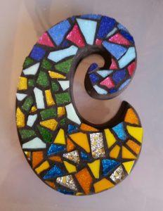 Colorful C Mosaic Sample