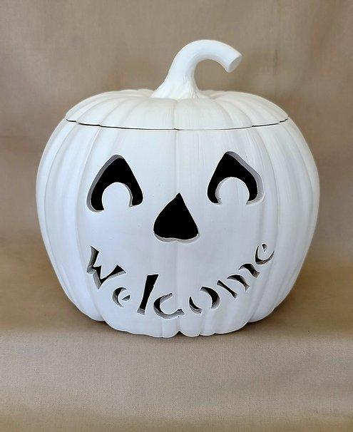 Large Pumpkin Sample Welcome