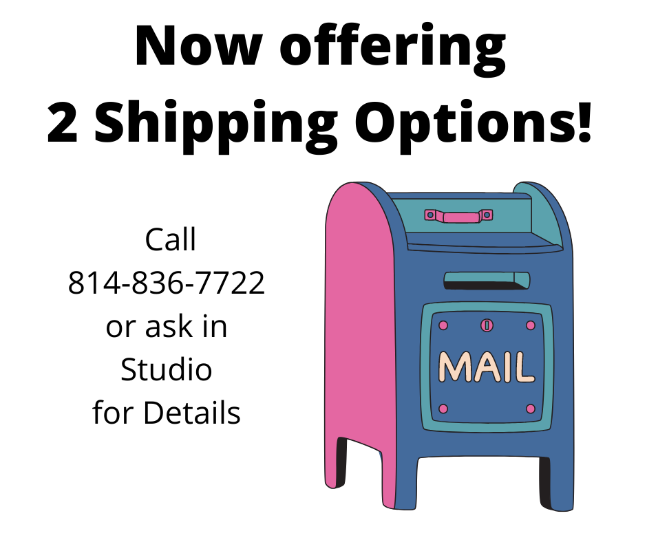 Now Offering Shipping Options